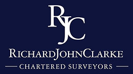 RJC surveyors' logo